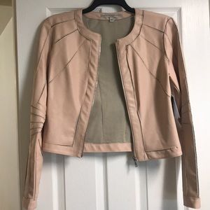 "Guess ""shifting sand"" light pink jacket"